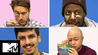 Guys Try Make Up For The First Time | MTV Style