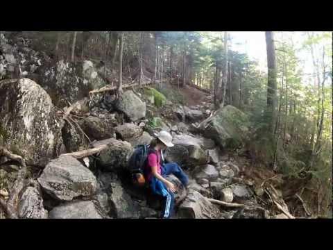 Mount Osceola July 2012 -  Amanda's first 4000'+     summit !