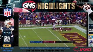 GMS New York Giants vs Washington Redskins - FULL HD GAME Highlights Week 14