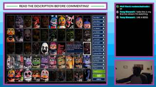 Livestream #46 - Ultimate Custom Night - Part 1 - First 12 Challenges