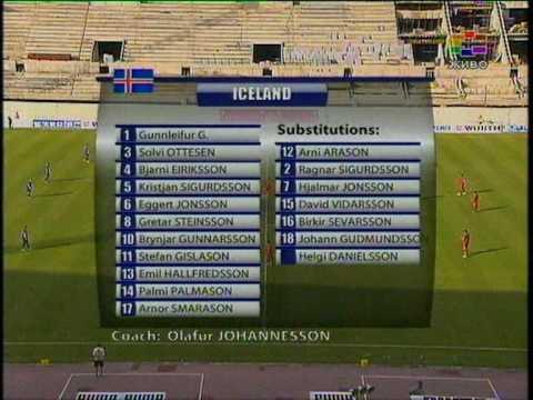Macedonia - Iceland 2:0 10.6.2009