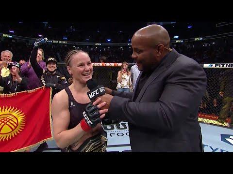 UFC 266: Valentina Shevchenko Octagon Interview