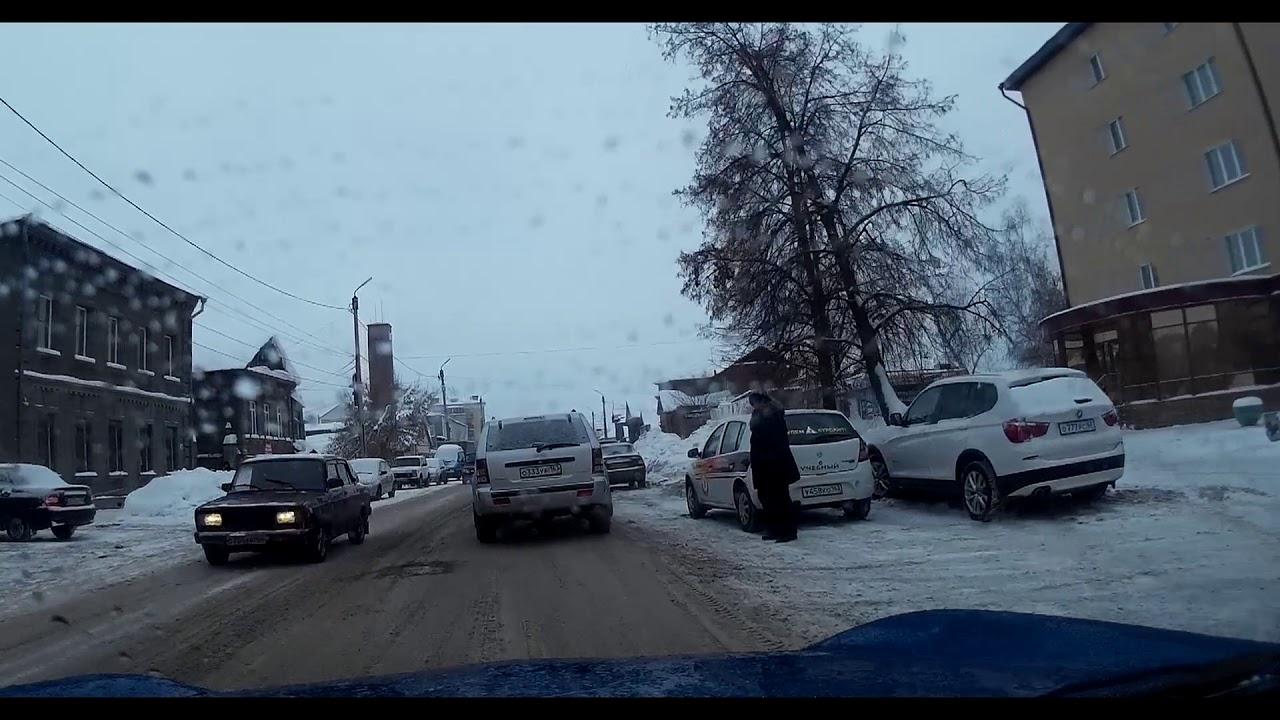 Сызрань Зима Дорога