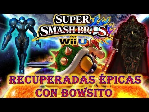 BOWSER, EL MAESTRO DE LAS RECUPERADAS ÉPICAS EN SUPER SMASH BROS 4