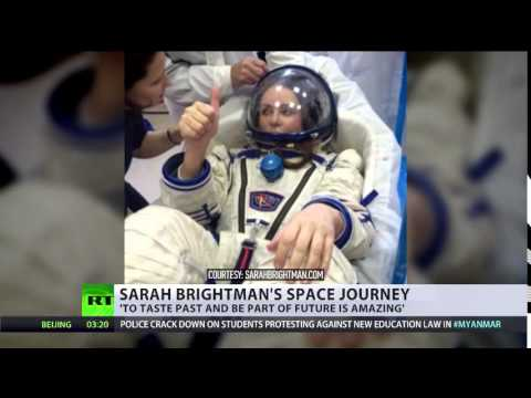 Orbiting opera: Space tourist Sarah Brightman to sing Andrew Lloyd Webber on ISS