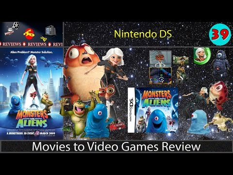 Movies to Video Games Review - Monsters vs. Aliens (Nintendo DS)