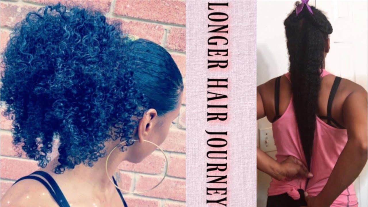 GROWING LONGER NATURAL HAIR JOURNEY