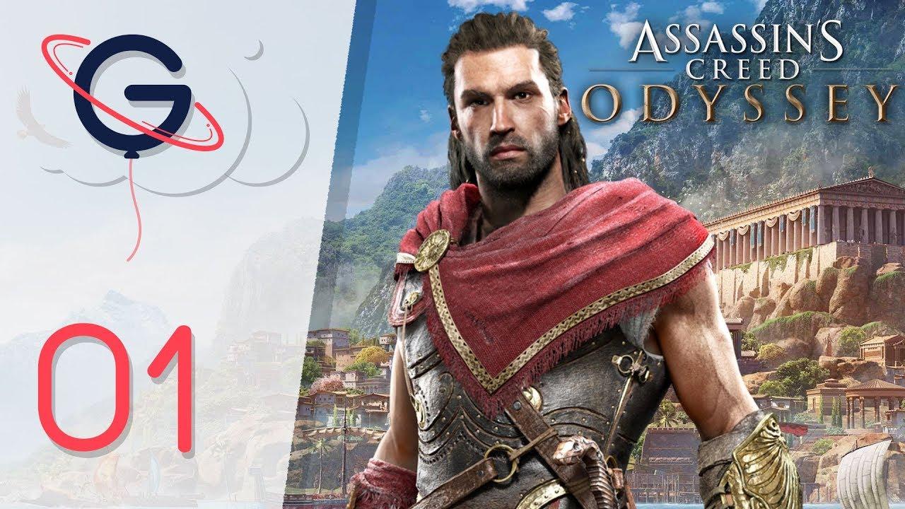 Download ASSASSIN'S CREED ODYSSEY FR #1 : Bienvenue en Grèce !