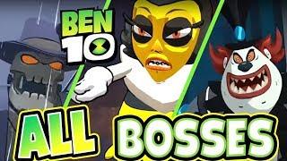 Ben 10 All Bosses | Final Boss + Ending (PS4, XB1, Switch, PC)