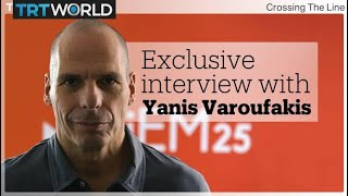 Full exclusive interview with Yanis Varoufakis | Crossing the Line