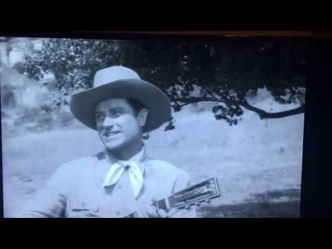 Ray Whitley sings in Tim Holt westerns