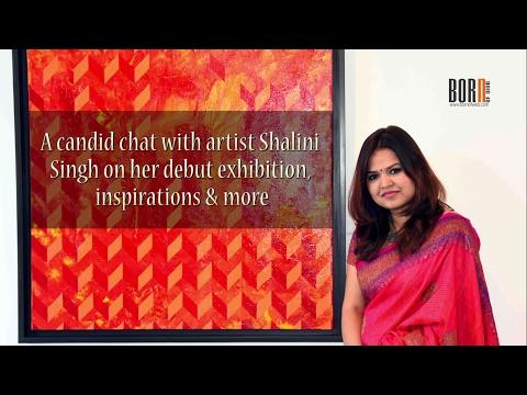 AMAZING! Artist Shalini Singh takes us through her debut show