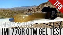 Home Defense 5.56mm Ammo: IMI's Mk 262 Clone 77gr OTM gel test