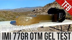 Home Defense 5.56mm Ammo: IMI's Mk 262 Clone 77gr OTM gel test