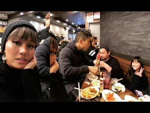 AGNEZ MO with Family & Bing Chen in New York
