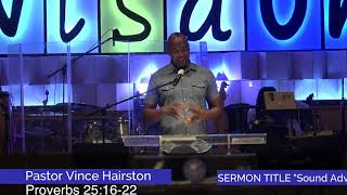 Calvary Christian Center- Pastor Vince Hairston- Sound Advice