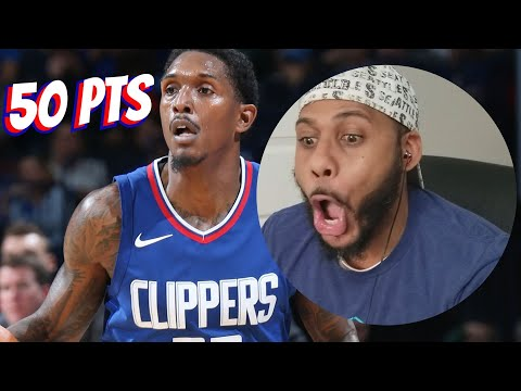 Lou Williams Drops 50 on Y'all! Golden State Warriors vs Los Angeles Clippers Full Game Highlights