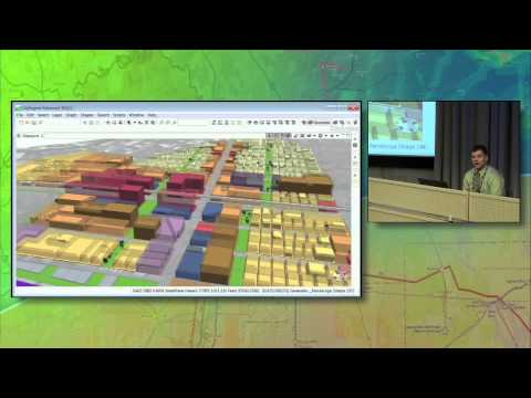 Using 3D GIS and Geodesign to Plan Light Rail Development in Honolulu - Part 1