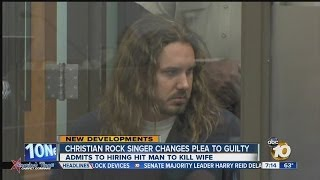 Rocker Tim Lambesis pleads guilty to solitation of murder