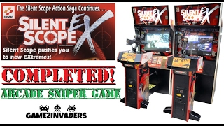 SILENT SCOPE 4 EX! Complete Playthrough! Arcade Sniper Shooter! Coin Op!