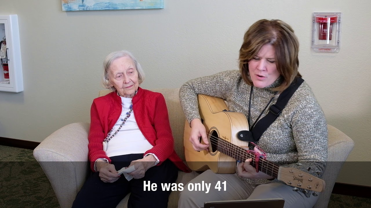 Music Therapy And Dementia Care Joan Adkins Youtube