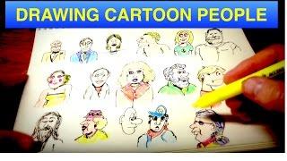 Drawing Cartoon People