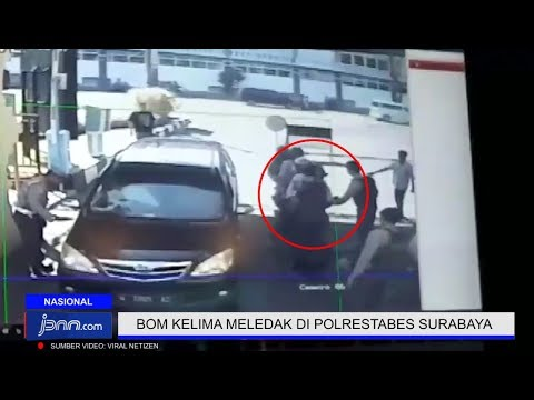Detik - Detik Bom Meledak Di Polrestabes Surabaya