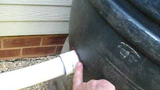 Making and Connecting Multiple Rain Barrels Part 1