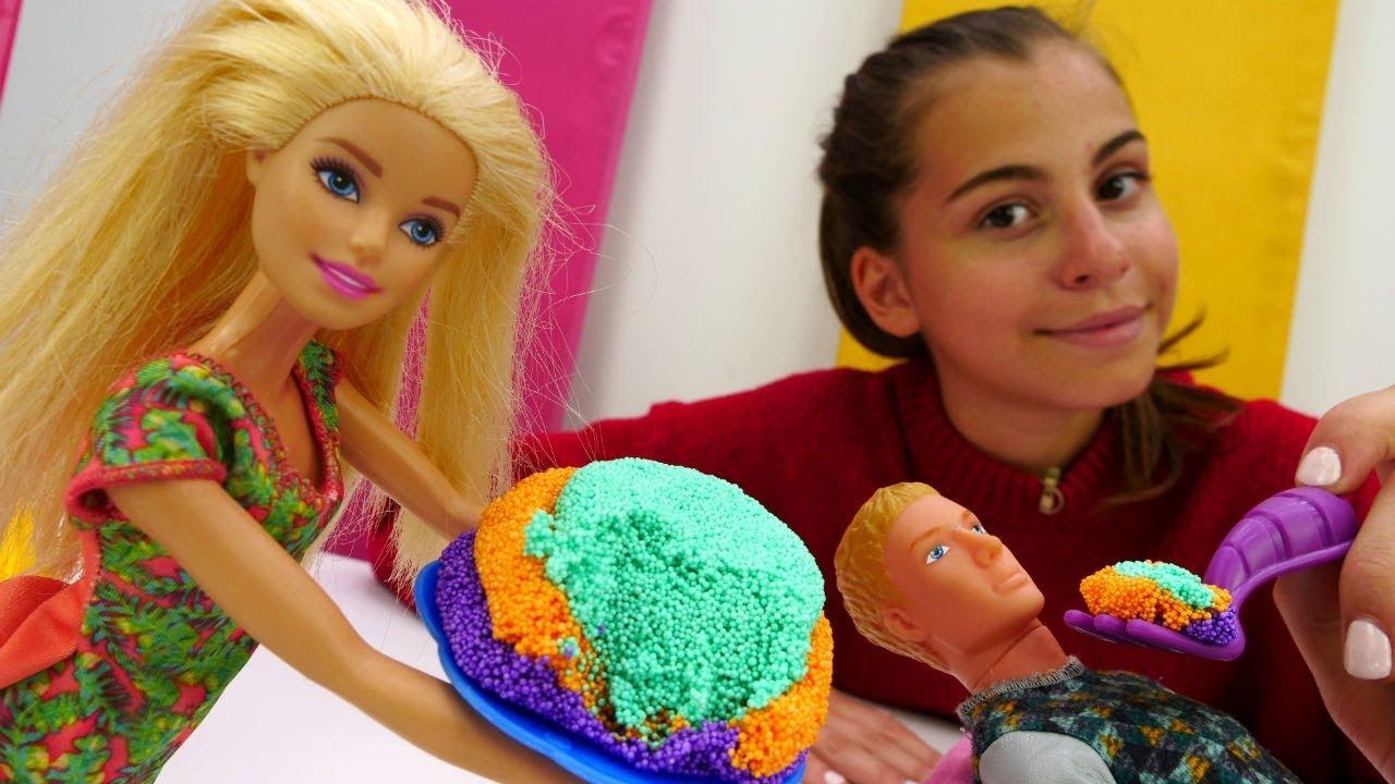 Видео для девочек - Ужин для Кена - Барби и Кен - YouTube