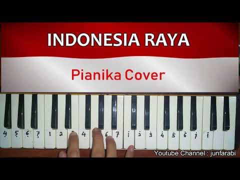 Indonesia Raya dengan pianika - cover