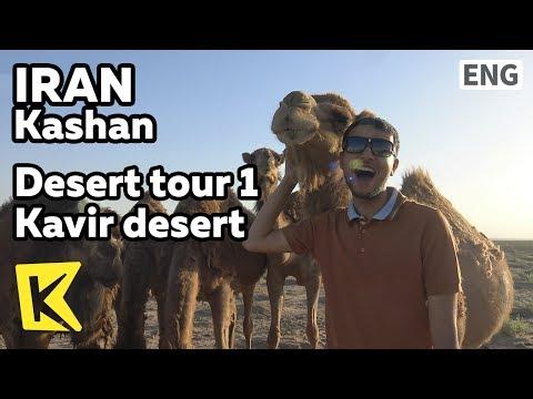 【K】Iran Travel-Kashan[이란 여행-카샨]사막투어 1 카비르 사막/Desert tour/Kavir desert/Camel
