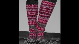 c56ce55afcba Crochet Scrappy Socks (pt1 3)