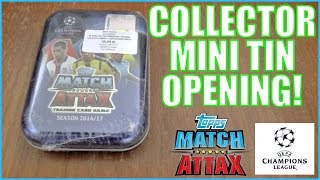 SERGIO RAMOS ??? LIMITED EDITION | topps MATCH ATTAX CHAMPIONS LEAGUE 2016/17 | MINI TIN
