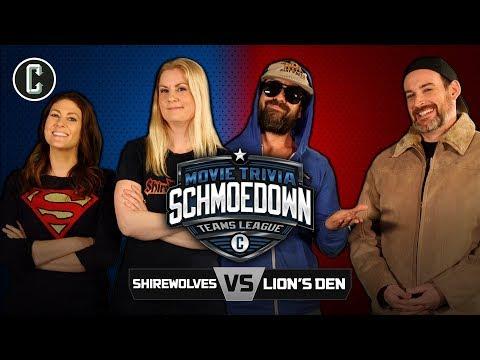 Shirewolves VS The Lion's Den - Movie Trivia Schmoedown
