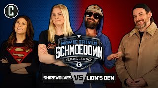 Shirewolves VS The Lion's Den - Movie Trivia Schmoedown
