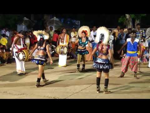 Excellent Karakattam Tamil folk dance at village festival Par 2