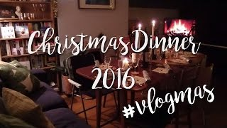 I DO A VLOG #2 || Christmas Dinner 2016 || #vlogmas