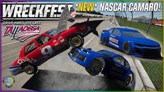 *NEW* NASCAR Camaro at Talladega!   Wreckfest   NASCAR Legends