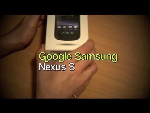 Samsung Google Nexus S India Unboxing Video