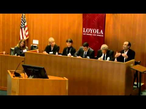"""""""Corporations, the Constitution and Democracy"""" with Loyola Law School (Part 1 of 4)"""