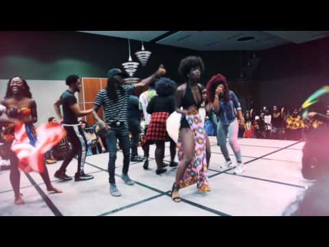African Girl Dancing