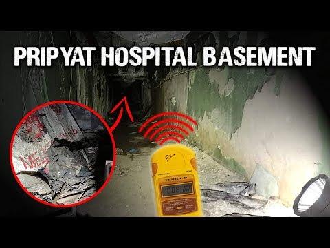 Inside Chernobyl's Hospital Basement (Scariest Room In Chernobyl)