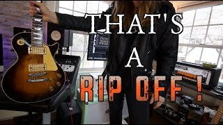 Most Famous Rip Off Riffs! ( With Tabs)