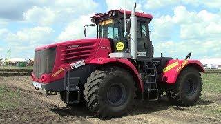 Новий трактор КІРОВЕЦЬ К-744 запуск двигуна і рух