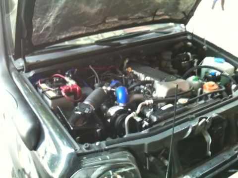 Suzuki Sidekick Supercharger Kit