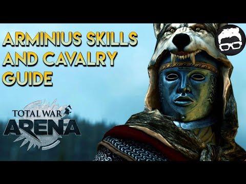 Total War Arena -- Arminius Skills and Cavalry Guide
