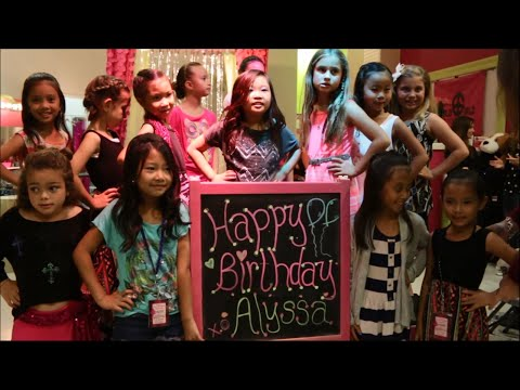 Alyssa Jade's 8th Birthday, Bold Girlz, Huntington Beach CA