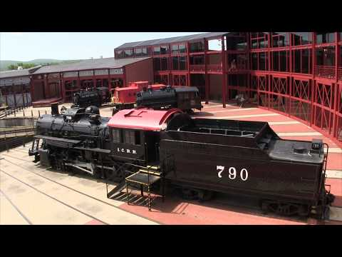 Steamtown National Historic Site  - Scranton, Pennsylvania, USA