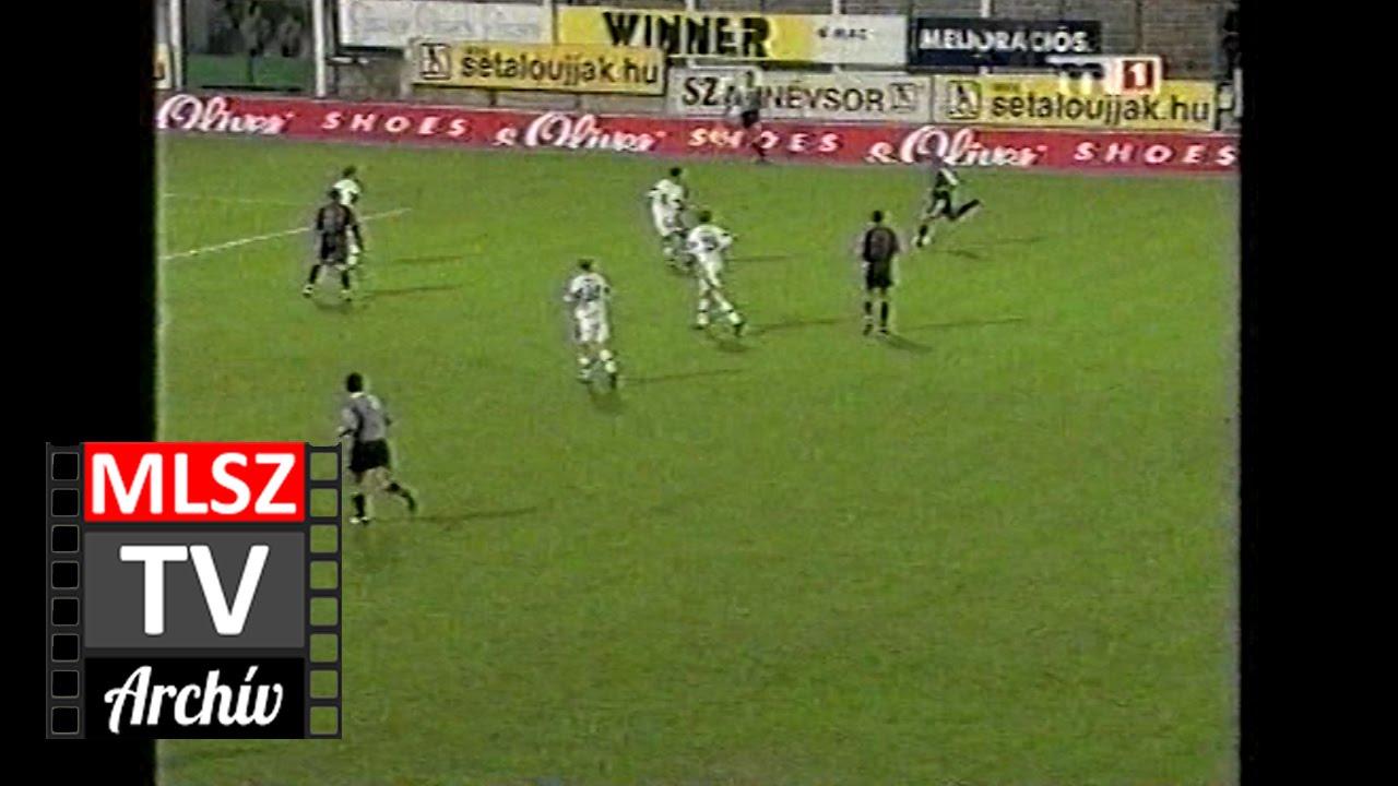 Haladás-Vasas | 1-0 | 2001. 09. 07 | MLSZ TV Archív