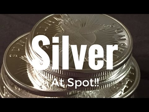 Buying Silver at Spot - A Silver Stacking Dream